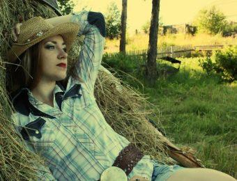 Деревенский стиль кантри в одежде