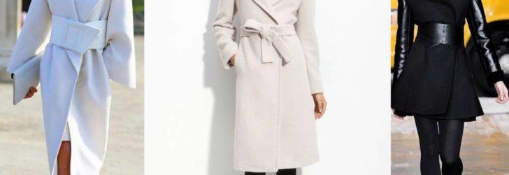 Оригинально, стильно и необычно — пальто с пелериной и большим воротником