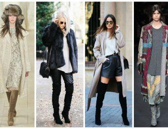 Креатив в моде – женские осенние сапоги на 2021-2020 год