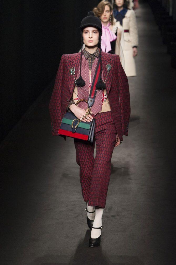 Модели на показе Gucci