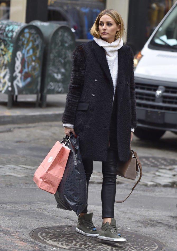 Оливия Палермо с покупками