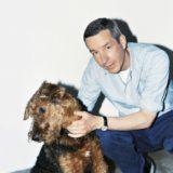 Дрис ван Нотен с псом