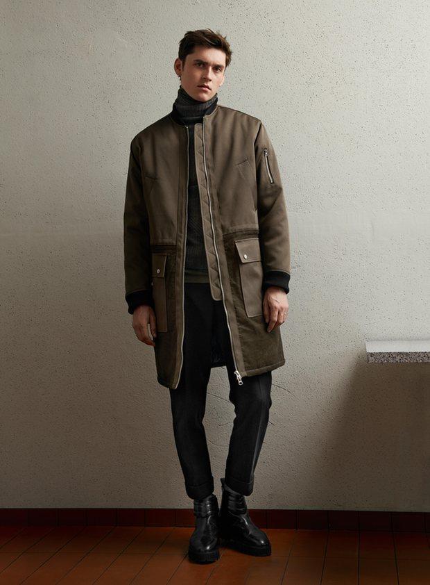 Мужчина в образе от H&M