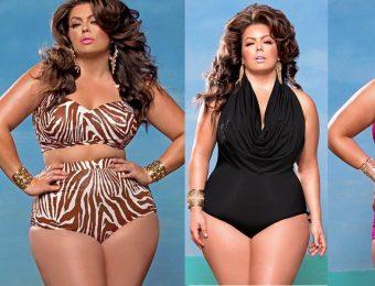 Пляжная мода для женщин plus size