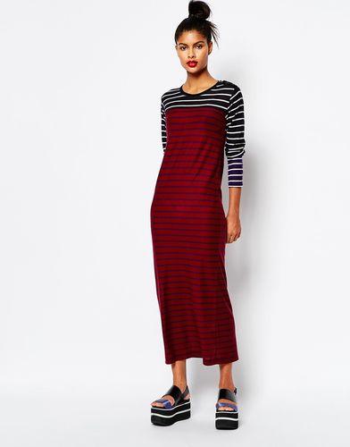 Платье-макси с босоножками