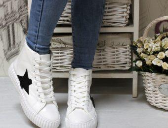 С чем носить высокие кроссовки-сникерсы: 6 модных советов