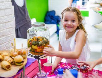 Кейтеринговый сервис для детей