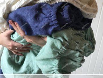 Льняная простыня на резинке: роскошь и средство для здорового сна