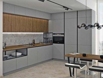 Технологичные кухни в современном стиле